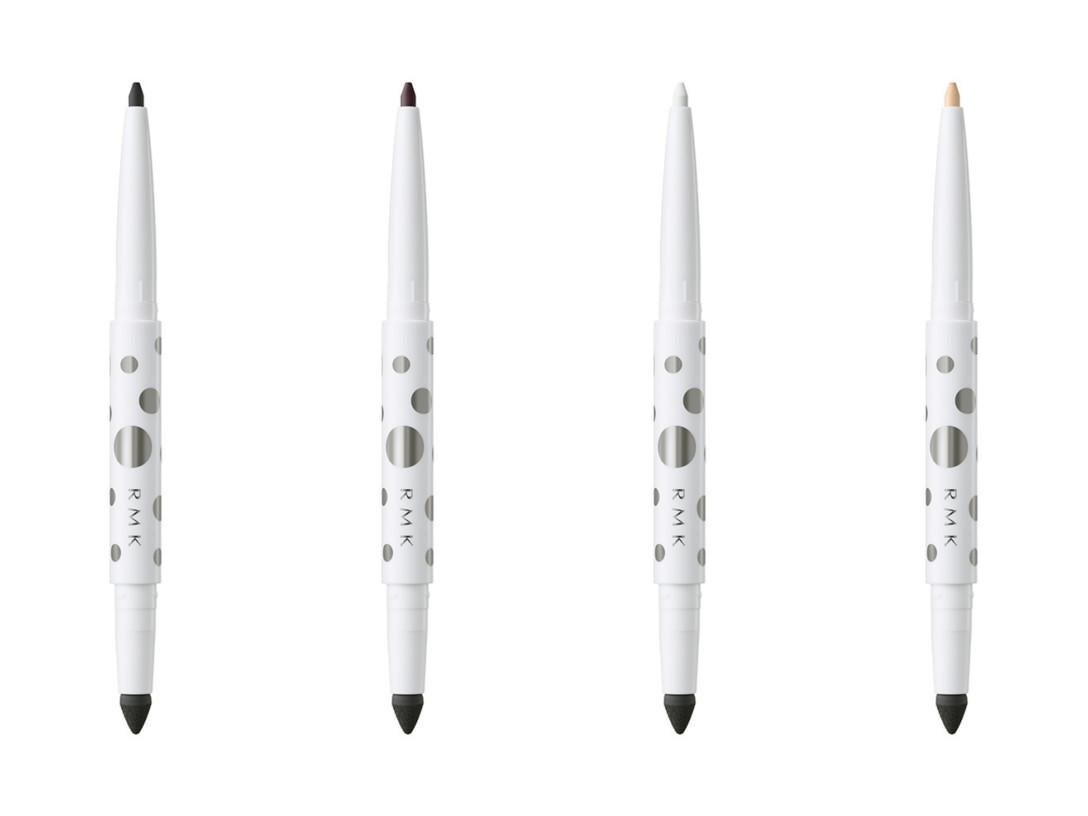 925a15215c アイライナー(4色). ソフトファイン アイペンシル(限定、各2,800円) 左から「EX-01 ブラック」「EX-02 ブラウン」「EX-03  ホワイト」「EX-04 ベージュ」