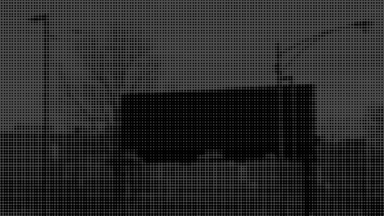 "Virgil Abloh ""a mere image"" / 2018 / Screen print on chrome"