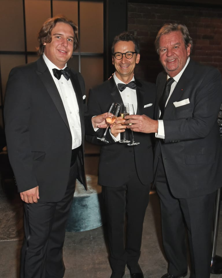Anton Rupert Jr, Federico Marchetti and Johann Rupert (Photo by David M. Benett - Getty Images for IWC)Anton Rupert Jr, Federico Marchetti and Johann Rupert (Photo by David M. Benett - Getty Images for IWC)