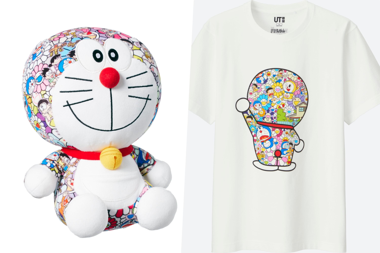 4740320c4f173 ユニクロが「ドラえもんUT」発売、村上隆の作品がTシャツやぬいぐるみに