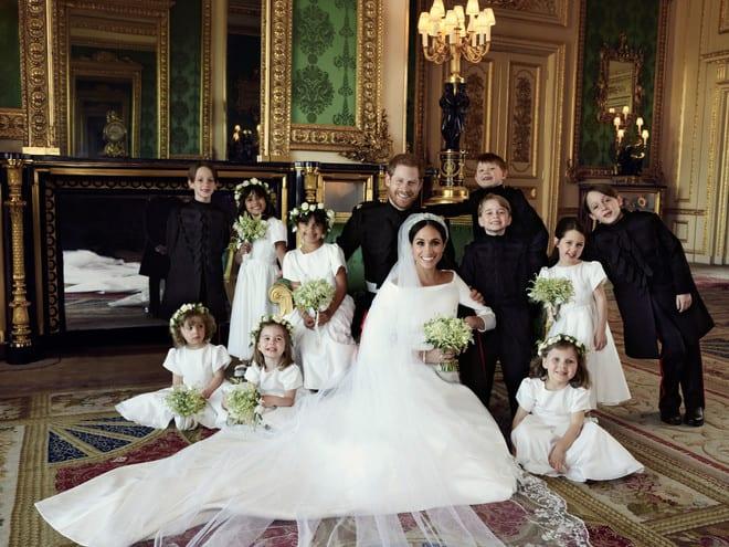 936bb381d7506 ヘンリー王子&メーガンの結婚式を彩った英国デザイナーとドレス<写真レポ>