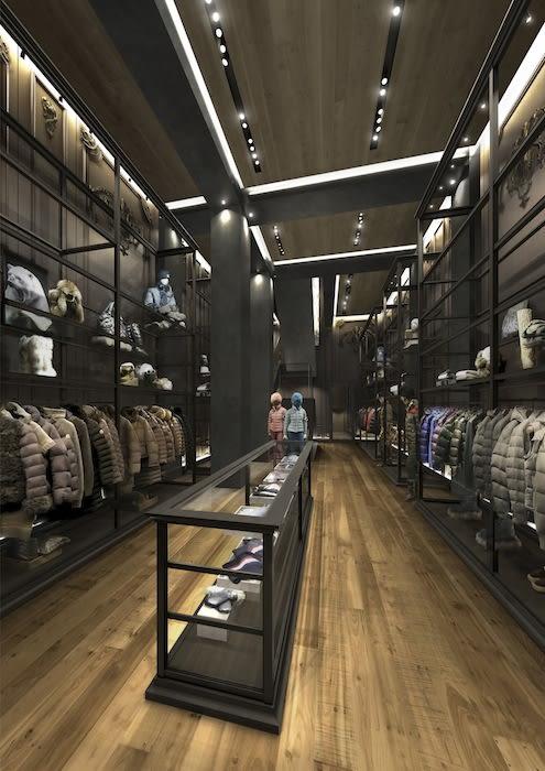 モンクレール国内初旗艦店、9月1日にオープン