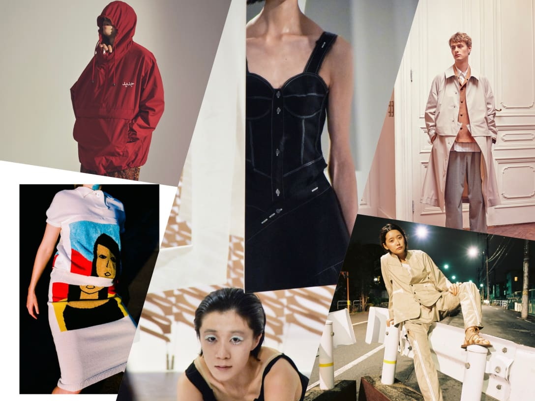 5827afbbad180a 若手ファッションデザイナーのホープをフィーチャーする企画「若手ブランドベスト9」を3年ぶりに公開。今年活躍が期待される日本人デザイナーの9ブランドを  ...